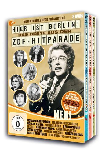 Hier ist Berlin! - Das Beste aus der ZDF-Hitparade [3 DVDs] ab 13,97 Euro @Amazon.de