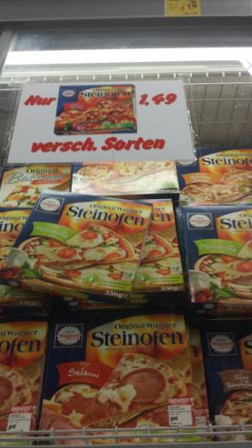 Wagner Steinofen Pizza @ 53894 REWE Kommern