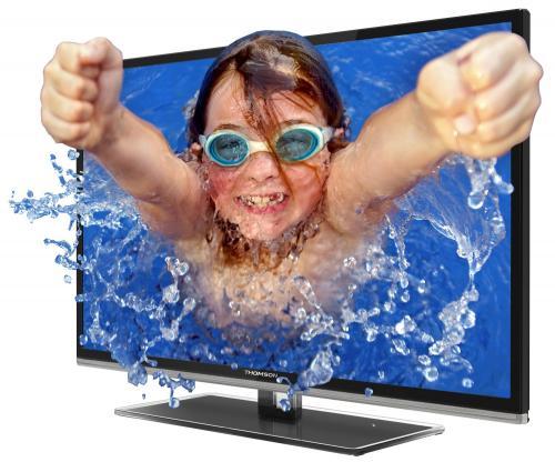 Thomson 50FU6663 127 cm (50 Zoll) 3D-LED-Backlight-Fernseher Schwarz