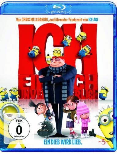 Ich - Einfach unverbesserlich (+ Blu-ray 3D) [Blu-ray]