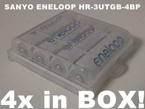 Sanyo Eneloop Mignon AA HR-3UTGB-4BP 4er Blister bei Ebay 7,-€