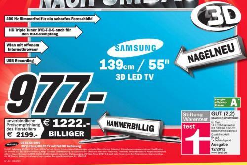 (Offline) Media Markt Heppenheim // Samsung UE-55ES6990 3D FHD 400Hz Triple-Tuner