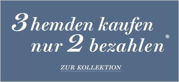 Tailorstore - 3 Hemden kaufen, nur 2 bezahlen (nur noch bis 12.Mai)