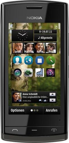 Nokia 500 Smartphone mit 3,2'' Display in schwarz für 72,56€ @Amazon Warehousedeals