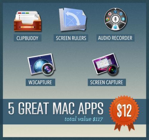 Mighty Mac Bundle mit 5 Apps für den Mac für 9,22€