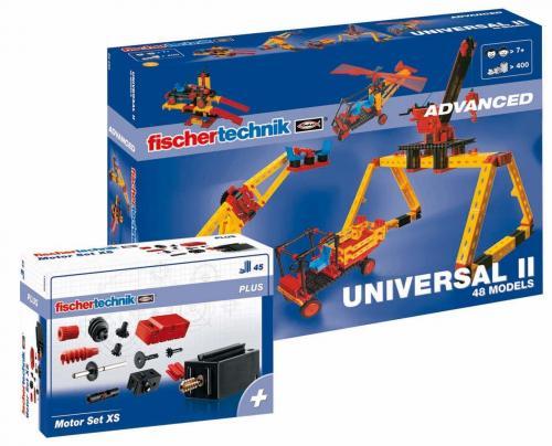 Fischertechnik Universal II mit Motor Set XS @amazon.de