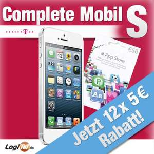 iPhone 5 16GB + Samsung Galaxy Tab 2 8.0 8GB + Telekom Complete S