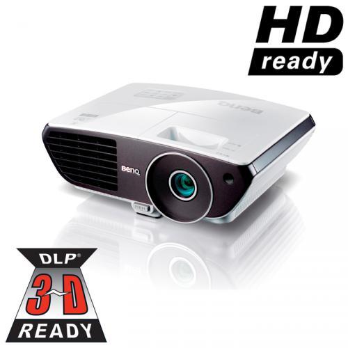 BenQ W700 HD-Ready DLP Beamer - statt 488,88 nur 449 - begrenzte Stückzahl