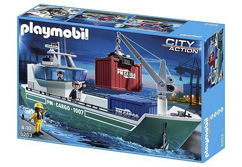 Otto.de: Frachtschiff mit Verladekran (5253), Playmobil®