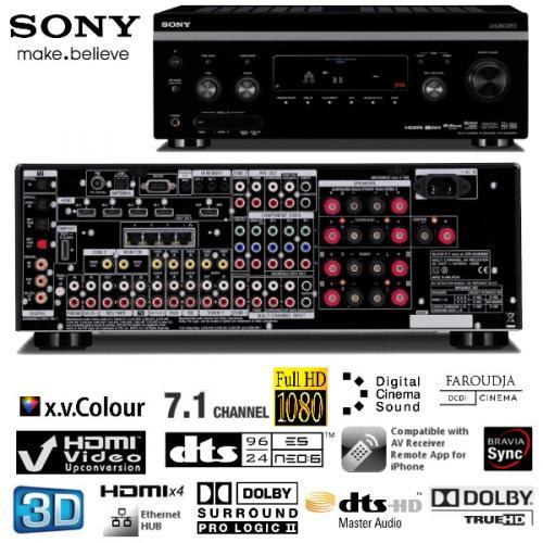 Sony STR-DA3600ES High End 7.1-Heimkino-Receiver mit Dolby TrueHD, 3D-Unterstützung über 4 x HDMI, Ethernet-Hub @ ibood