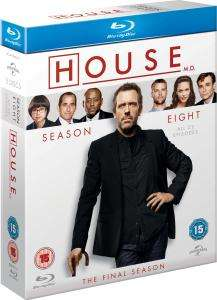 [Blu-ray] Dr. House Season 8 (O-Ton) @ Zavvi