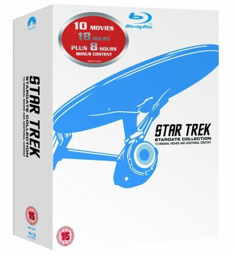 Star Trek: Stardate Collection, Film 1-10 (Remastered) [Blu-ray] für 76,17€ statt 138€