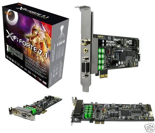 AuzenTech X-Fi Forte 7.1 @ Alternate