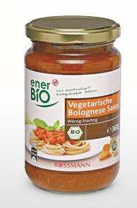 [Facebook] Rossmann Produkttest enerBiO Sauce