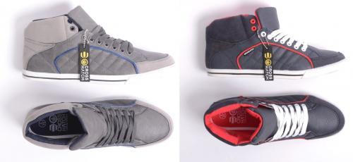 """Crosshatch™ - Herren Sneaker """"Spindle"""" (Grau,Blau) für €15,98 [@TheHut.com]"""