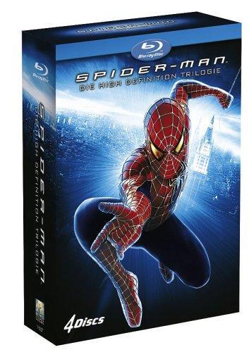 Spider-Man Trilogie [Blu-ray] nur heute für 17,97€