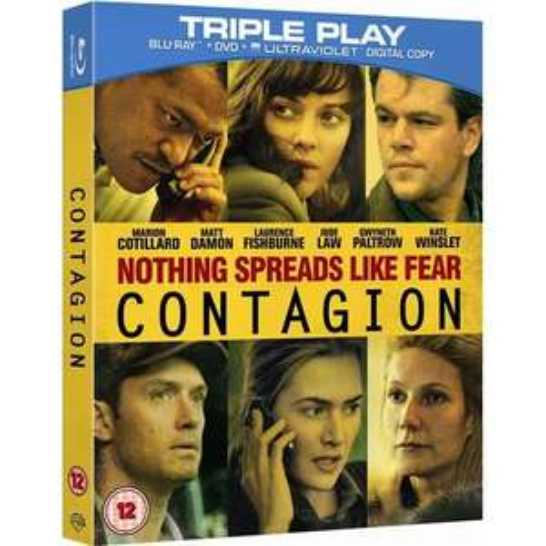 (UK) Contagion - Triple Play (Blu-ray + DVD + Digital Copy)  für 9.39€ @ play (Zoverstocks)