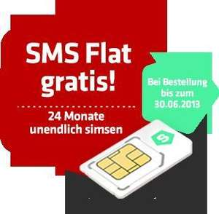 [Qipu] 50€ Cashback für die simfinity E-Plus Allnet-Flat inkl.500 MB  und SMS-Flat, AG frei !