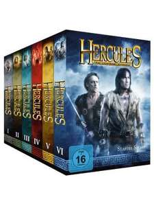 Hercules - Komplett-Package, Staffel 1-6 [34 DVDs]