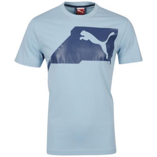 Puma™ - Herren Logo T-Shirt (Blau) für €5,29 [@TheHut.com]