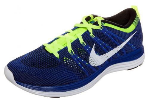 Nike Flyknit Lunar 1+ blue - Herren Laufschuh