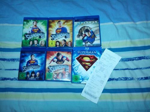 [SATURN] Superman - Die Spielfilm Collection (5 Filme auf 5 Blu-rays)