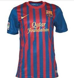 FC Barcelona Heim Trikot 2012