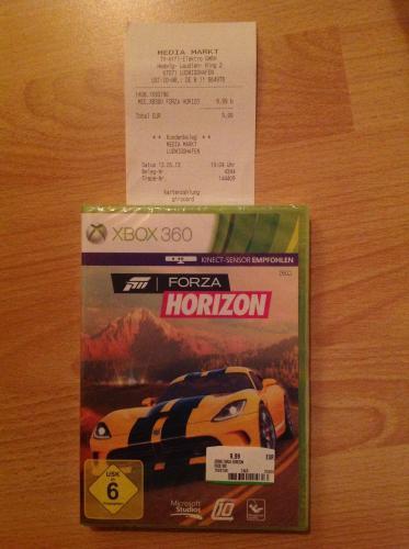 Forza Horizon (Xbox 360) für 9,99 €