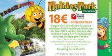 Holiday Park - 18€ Eintritt am 26.05. oder 19.90€ bis Ende Juni