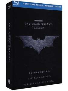 The Dark Knight Trilogy [Blu-ray] (5 Disc) inkl. VSK für 29,61 € @ amazon.it