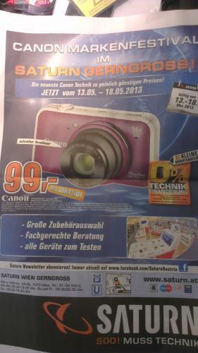 Canon Powershot SX220 HS bei Saturn [AT - Lokal] für 99 Euro