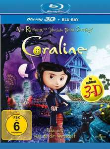[Blu-ray 3D] Coraline (+ Blu-ray) für 8,00 € @ Amazon