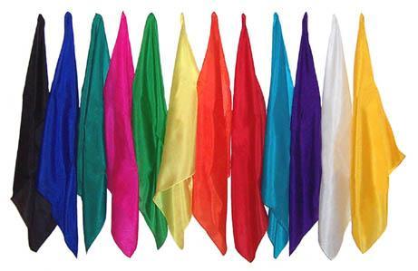 Gratis Tuch aus Seide (mit Broschüre) (Wert: angeblich 10$)