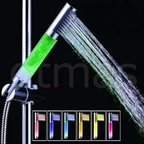Farbwechsele LED Duschbrausekopf für 7,64€ inkl. Versand