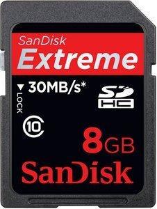 """Secure Digital """"8 GB"""" SDHC Card"""