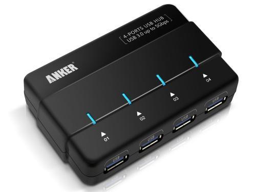 Anker® Uspeed USB 3.0 4 Port Hub für 25,99
