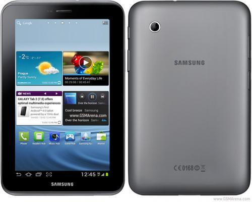 Samsung Galaxy Tab 2 7.0 (P3100) 3G 8GB silber 170,50 €