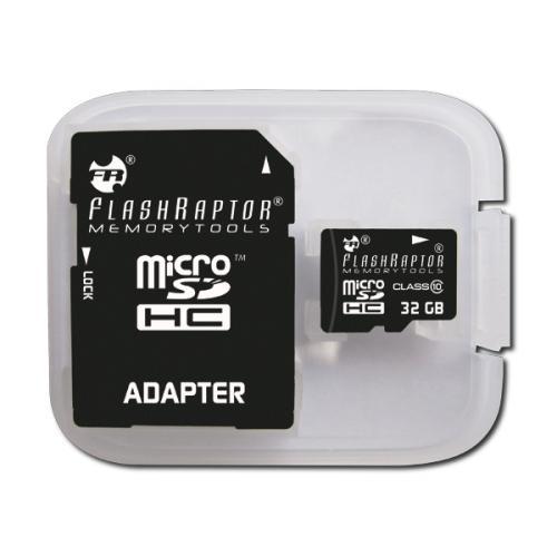 32 GB FLASHRAPTOR microSDHC Class 10 HIGHEND Speicherkarte + congstar Prepaid für nur 9,99€