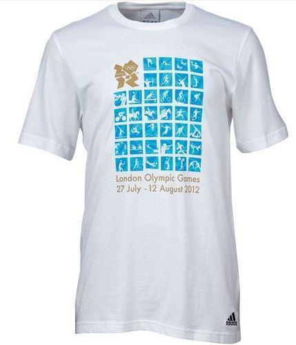 ADIDAS T-Shirt Olympia 2012 für nur 4,39 EUR bzw. 4,49 EUR + 1,90 EUR Versand [Gr. M - XL]