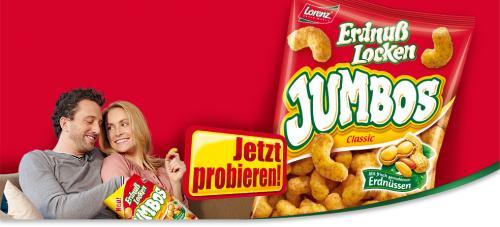 REWE (Bundesweit?)Lorenz JUMBO ErdnussFlips Gratis !