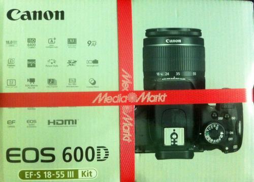 {Media Markt Meppen} Canon EOS 600D Kit 18-55 mm {nur heute}