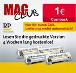 4 Wochen Rheinische Post (on-/offline) kostenlos testen (Endet automatisch!) + 1 EUR qipu