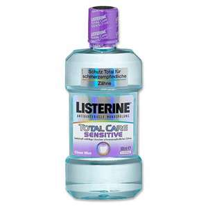 Listerine Total Care / Zero @jawoll