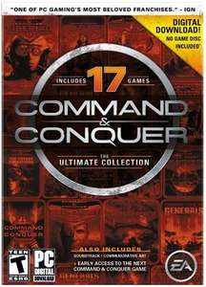 Command & Conquer Ultimate Collection für nur 7,73€ @Amazon.com