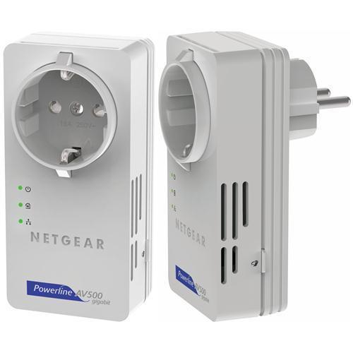 Netgear Powerline AV+ 500 Mbit Nano Set XAVB5601 2er Kit mit Steckdose 500Mbit/ Ebay WoW