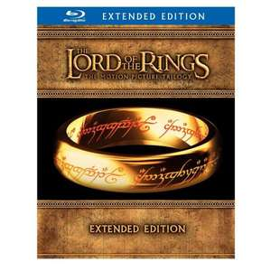 Lord Of The Rings Trilogy: Extended Version [Blu-ray] @ hive.co.uk UPDATE