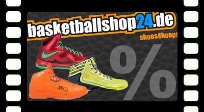 Basketballshop24.de mit Rabatt bis zu 30-50%