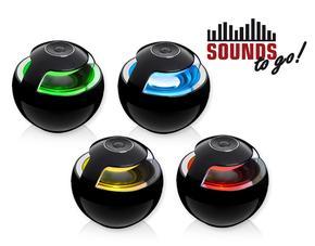 SOUNDS - to go! Bluetooth Lautsprecher schwarz für 19,99 € vk-frei