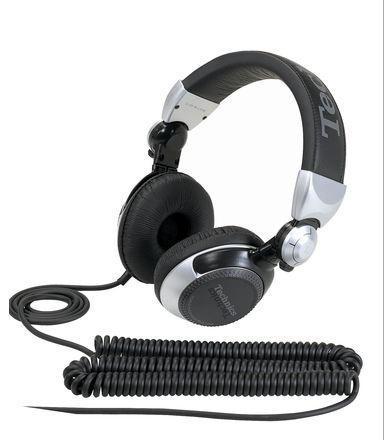 DJ KOPFHÖRER Technics RP-DJ1210E-S  für unschlagbare 95 EURO