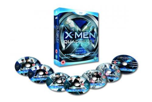 X-Men Quadrilogy [Blu-ray/7Discs] bei zavvi für 19,15€ inkl.Versand